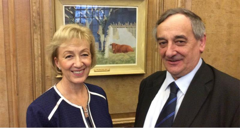 Andrea Leadsom and Meurig Raymond_39125