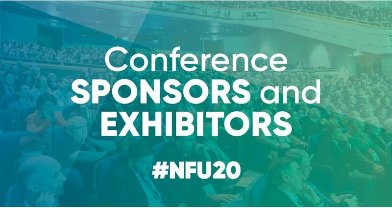 NFU20: Conference sponsors and exhibitors
