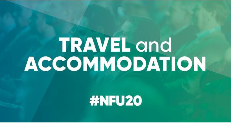 NFU20: Conference travel and accommodation
