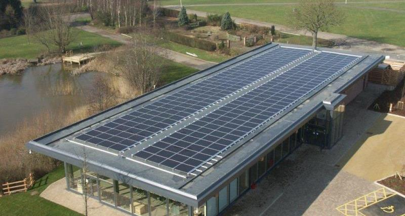 NFU Conference Centre's Solar Panels On Roof_10187
