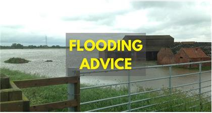 Advice for members affected by flooding