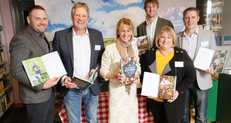 Farmers featured at Countryside Kitchen cook book launch