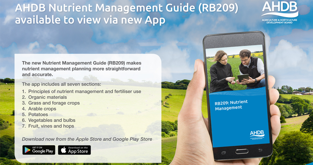 RB209 AHDB Nutrient Management Guide App_43897