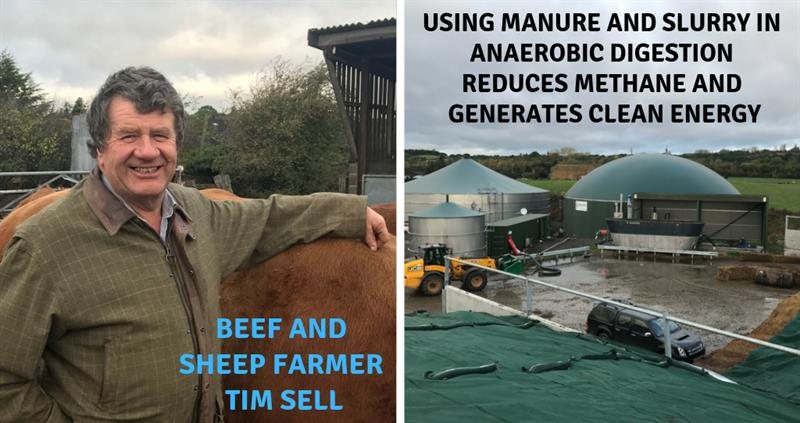 Beef farmer Tim Sell and his renewable energy story