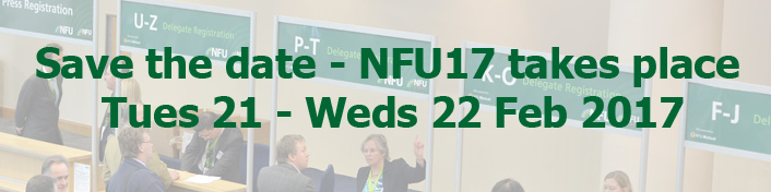NFU Conference 2017 promo