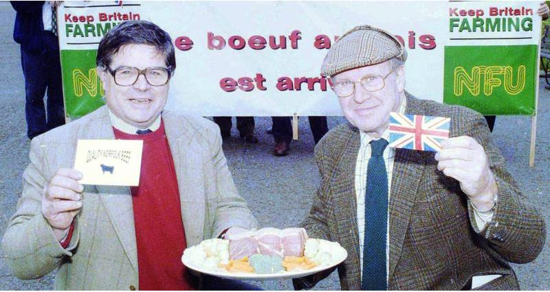 Norfolk 100 - campaigning for le boeuf Anglais_58612