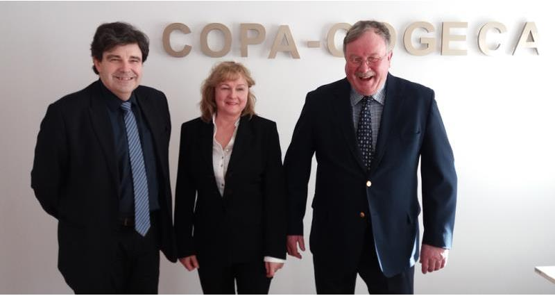 Charles Bourns re-elected as Copa-Cogeca Chair of Poultry Meat and Eggs