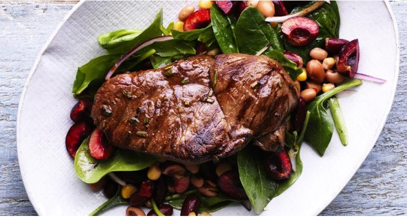 Lamb Leg Steaks in a Herb Marinade_44398