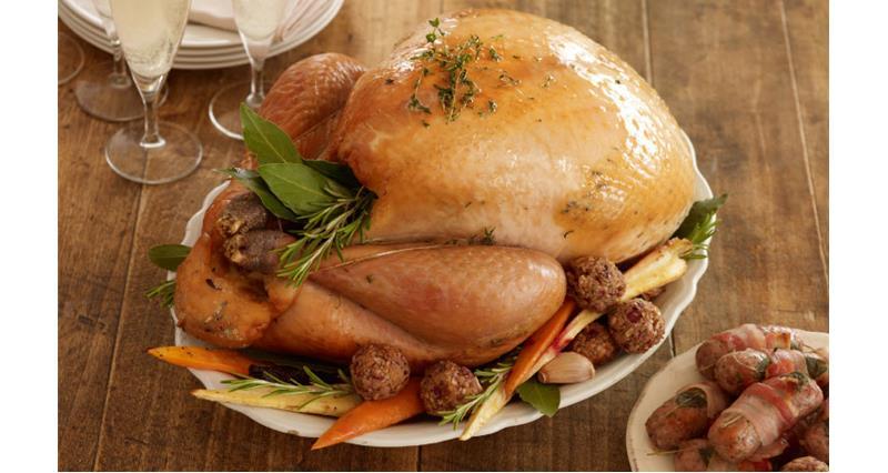 Christmas dinner - roast turkey_16939