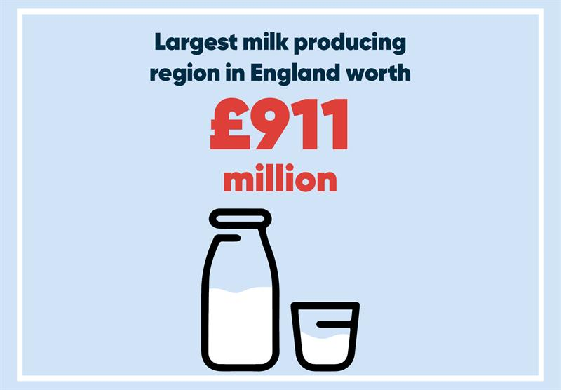 South West infographics milk_70746