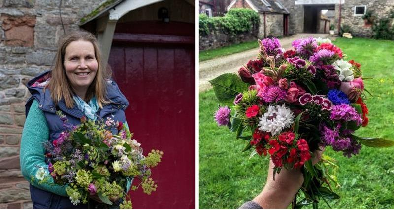 Victoria sells cut flowers grown in her one-acre plot_72116