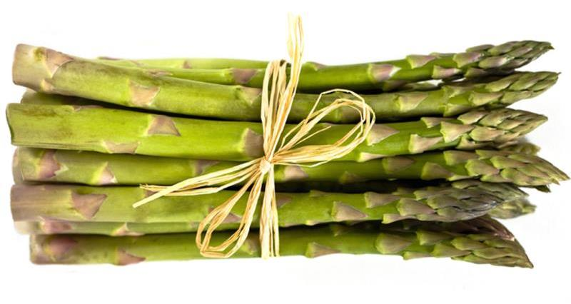 The British asparagus season
