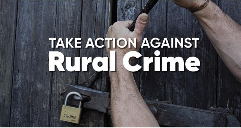 Stamp out rural crime - call the dedicated Crimestoppers hotline