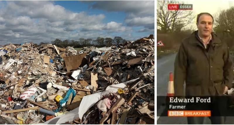 Edward Ford - BBC coverage on fly-tipping_72141