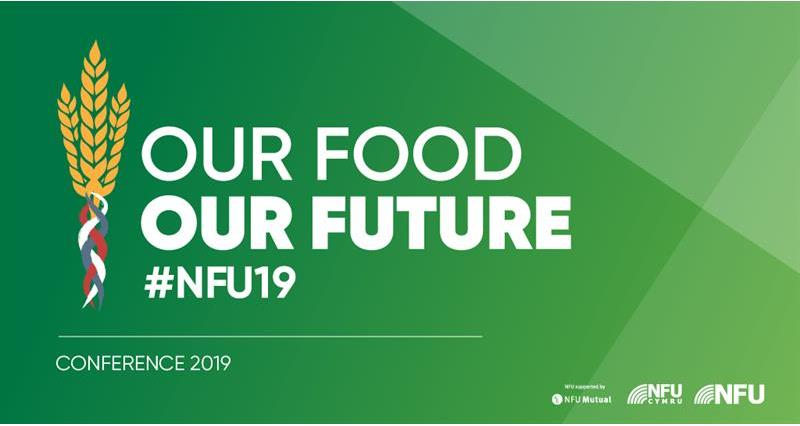 NFU Conference 2019 main title Our Food Our Future_59365
