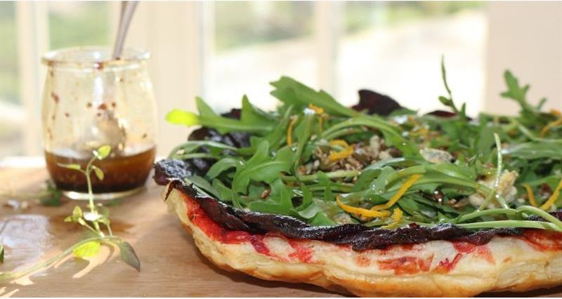 Recipe - Miranda Gore Browne - Beetroot and Stilton upside down tart_72113