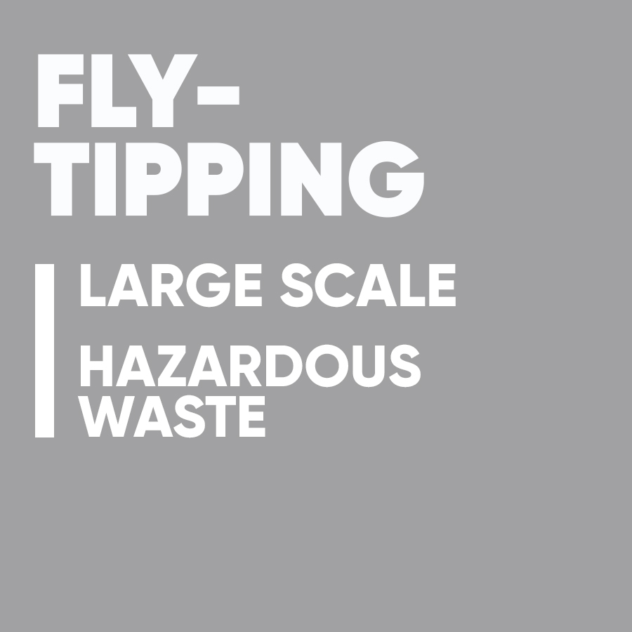 rural crime hub buttons fly-tipping