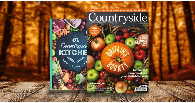 Countryside Oct front cover and book_68897