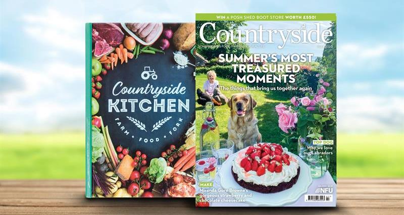 Countryside July front cover membership _73765