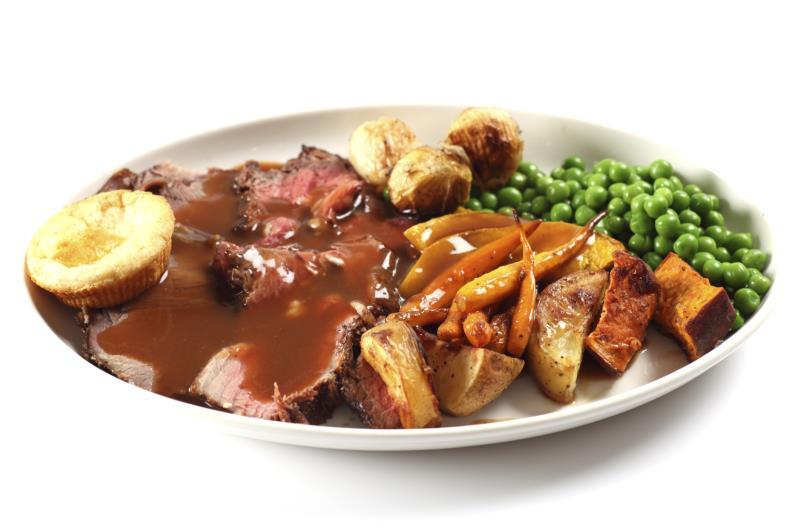 Roast beef dinner_16119
