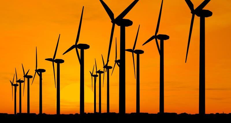Wind turbine silhouettes_12731