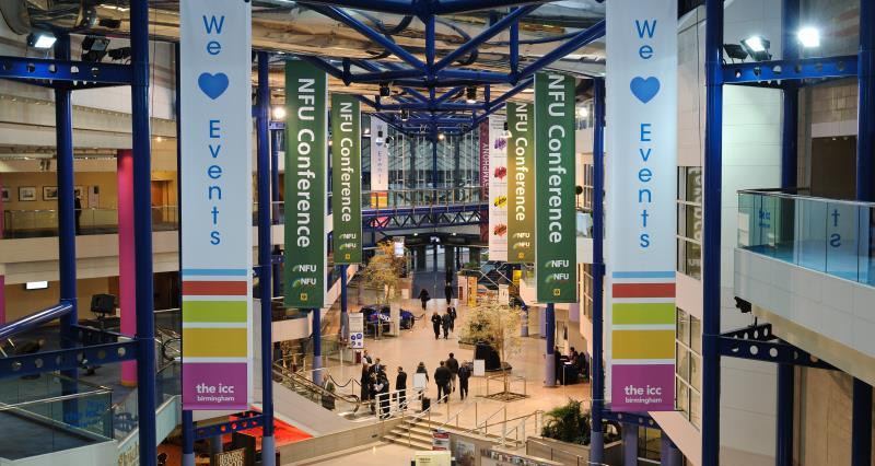 NFU18: Conference travel and accommodation