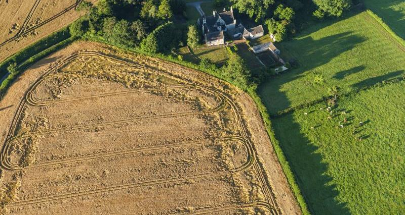 Aerial view of Cotswolds farm_16006