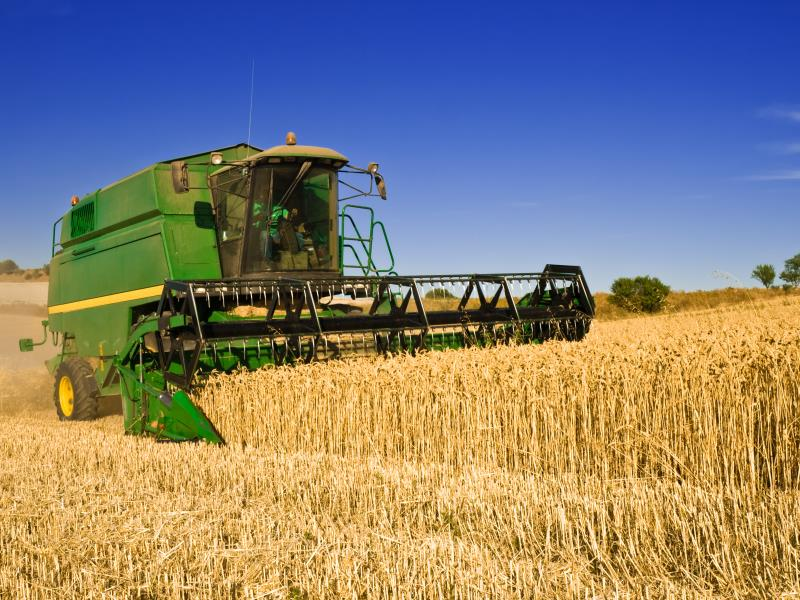 Combine at work_7640