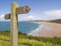 Coastal path sign_7494