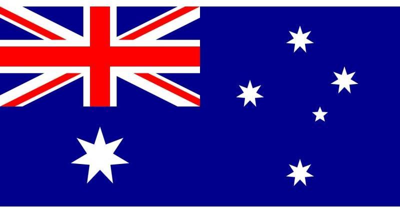 Australia flag _23350