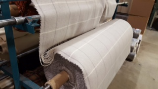 Martin Curtis - New Real Shetland Wool Throw on the loom_32780