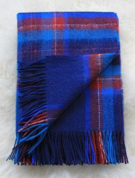 Martin Curtis - New Real Shetland Wool Throw-  Feb 2016_32781