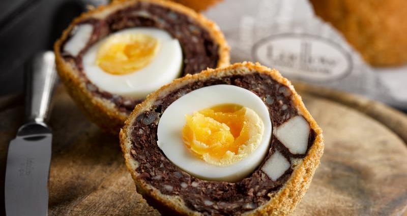 Black Pudding Scotch Egg - Ludlow farm Shop CS Picnic List_29448