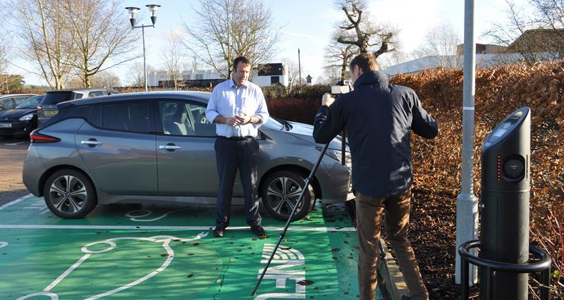 NFU Vice President completes 10,000 electric miles