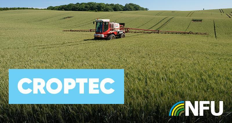 Hear from your NFU experts at Croptec