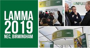 Come and meet the NFU at LAMMA 18