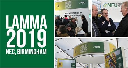 Kick start the year with the NFU at LAMMA