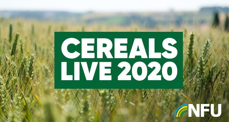 Join the NFU at Cereals live 2020 - exclusive offer inside