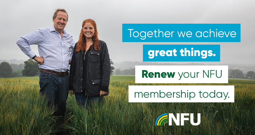 Keep farming's voice united: Renew your membership today
