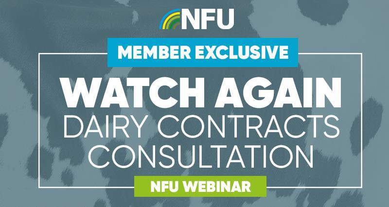 Watch again: Dairy contracts consultation - why it matters