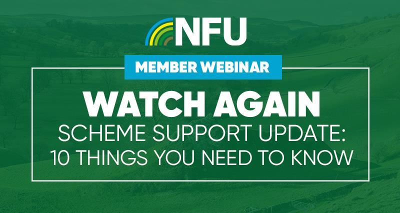 Watch again: Farming Schemes - 10 things you need to know now