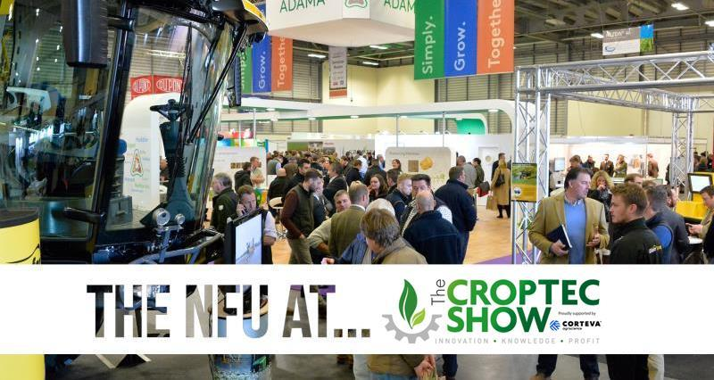 Visiting CropTec? So are we!
