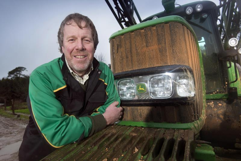 Mike Hambly with tractor_26145