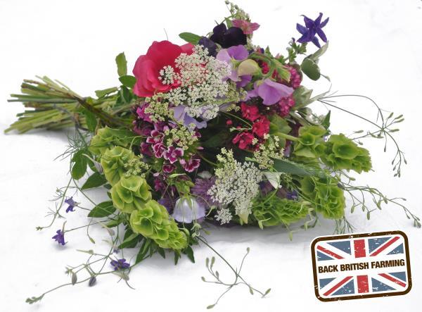 Bouquet of british flowers + bbf logo_36374