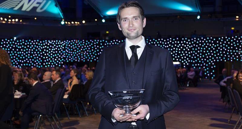 Meurig Raymond award winner Joe Stanley NFU conference 2020_72536