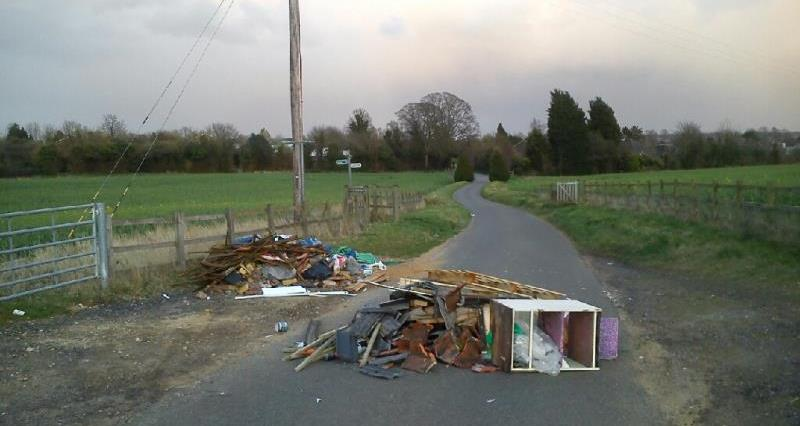 Image result for flytipping images farming land
