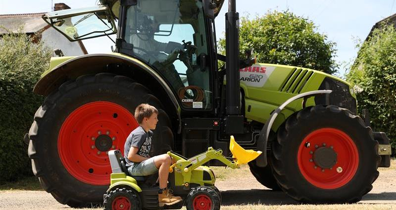 What's the law on children driving agricultural machines?