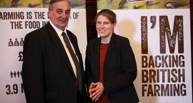 Meurig Raymond and Rachael Maskell MP, post-brexit MP event Westminster_35971