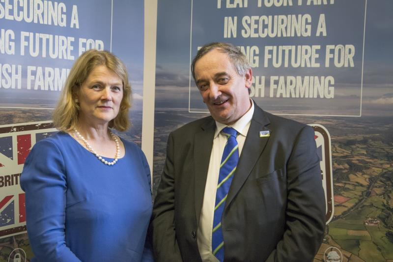 London Office - industry post election gathering - Meurig and Christine Tacon_28230