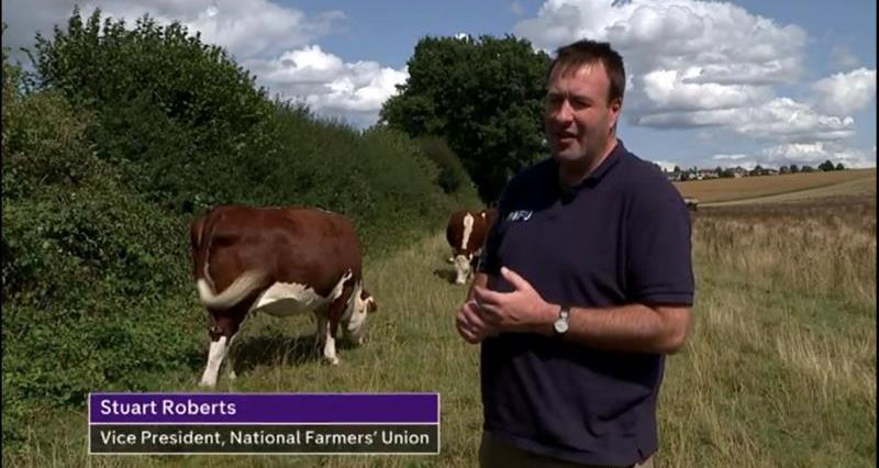 Stuart Roberts talks tyo Channel 4 News about Goldsmith College's decision to ban beef on campus_67726